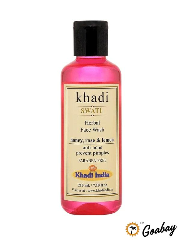 Swati Ayurveda, Facial Cleanser, Honey, Rose, Lemon, Свати Аюрведа, Очищающее средство для лица, Мед, Роза, Лимон,