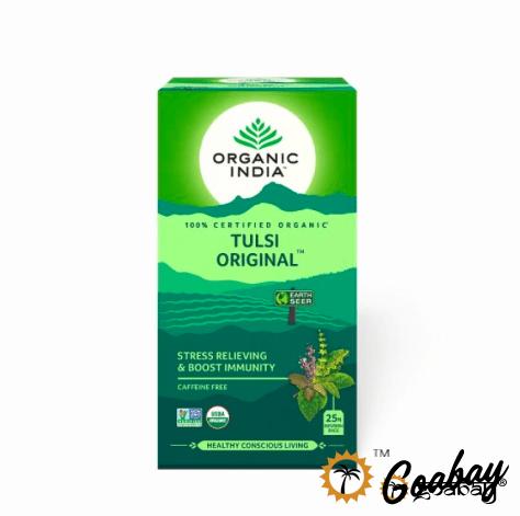 organic india, tea, индия, индийский чай